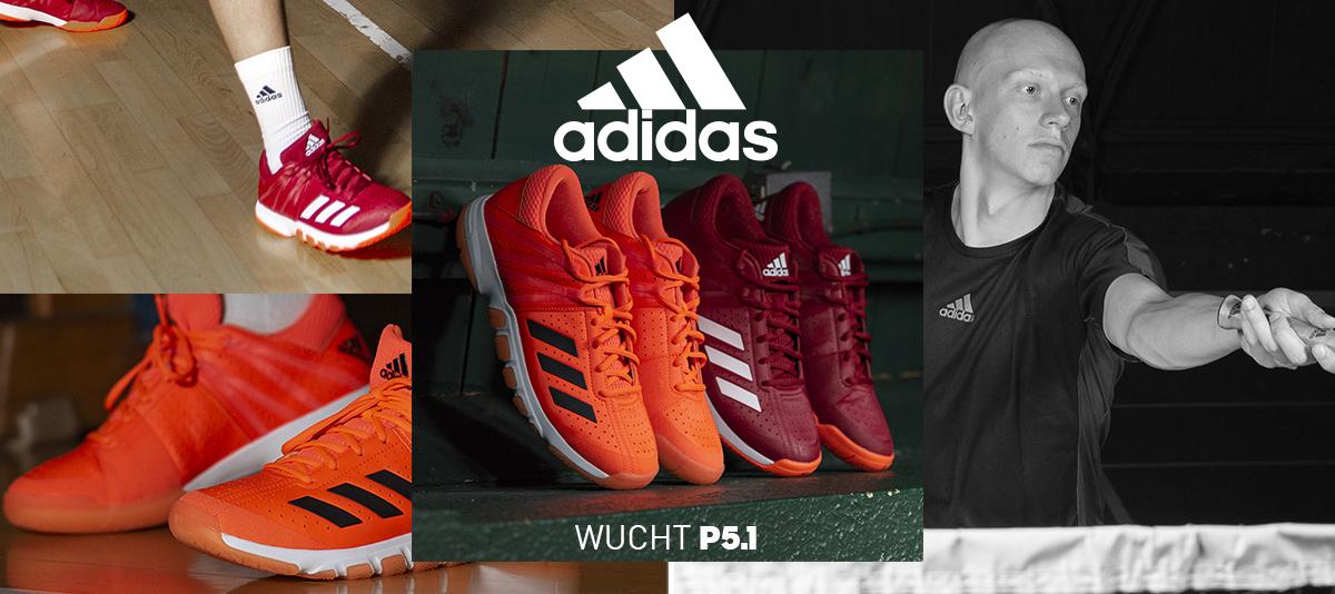 Chaussures Adidas pour le badminton