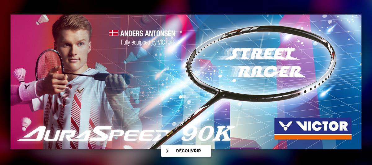 Anders Antonsen - Raquette badminton Auraspeed 90K