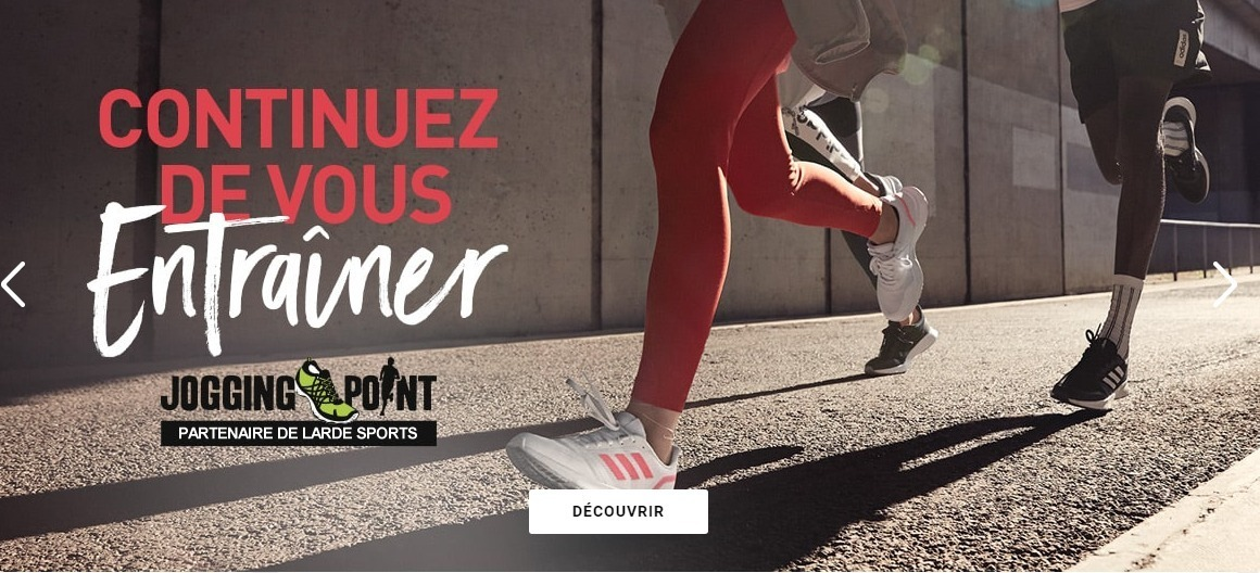 Jogging-Point : partenaire de Larde Sports !