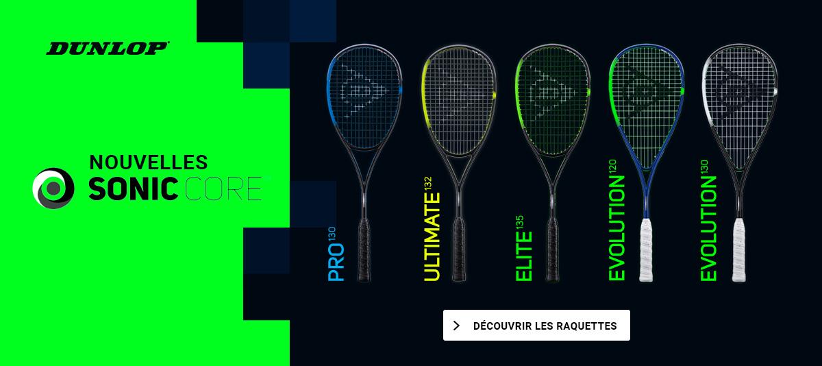 Raquettes Dunlop Sonic Core