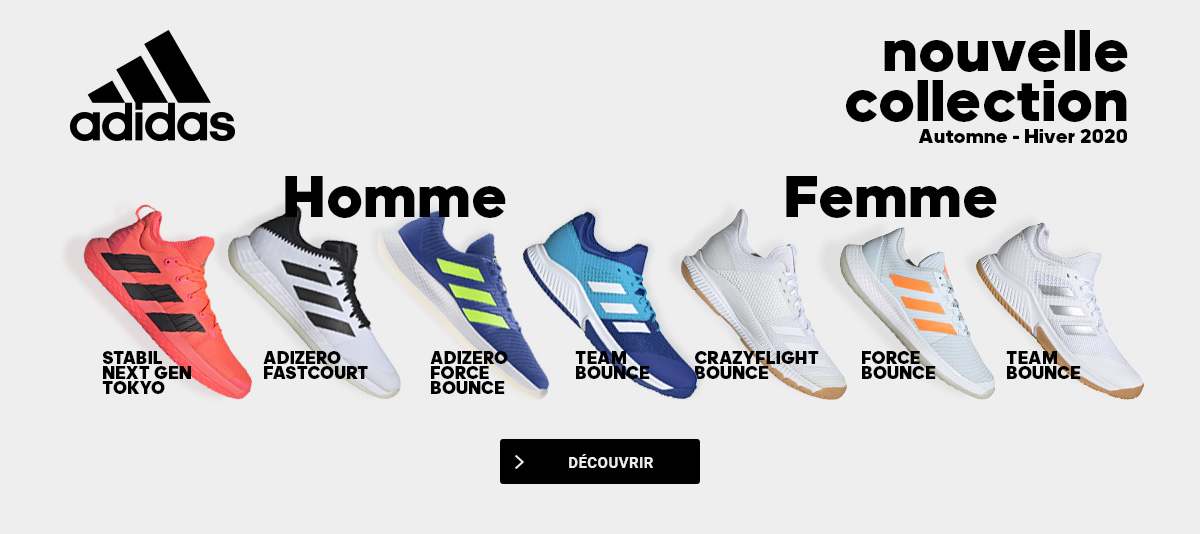 Adidas - Les nouvelles chaussures indoor !