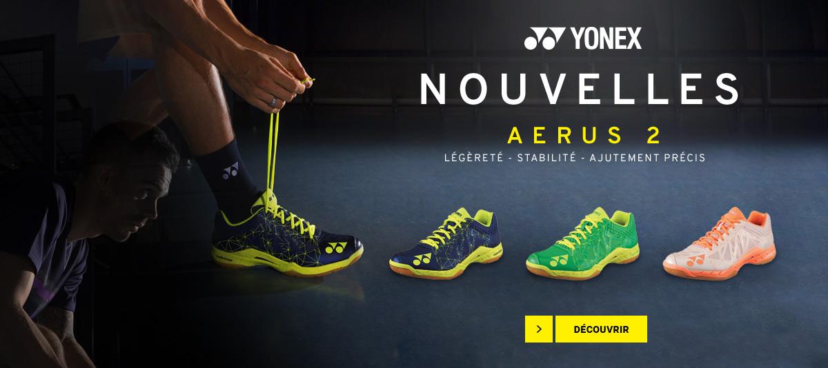 Les chaussures de badminton Yonex Aerus 2