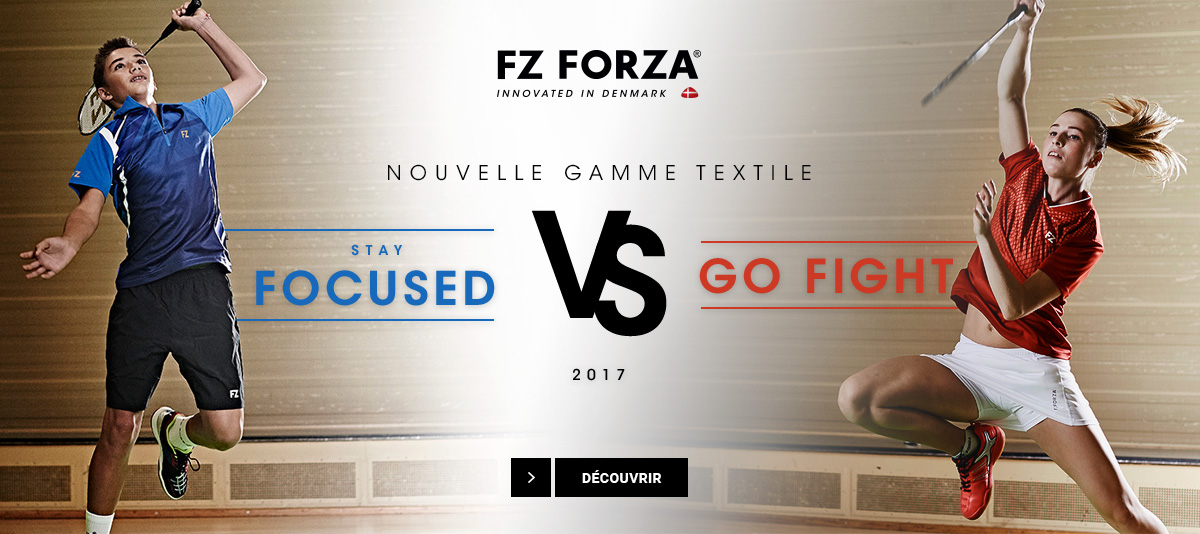 Les collections de textile Forza Stay Focused - Go Fight