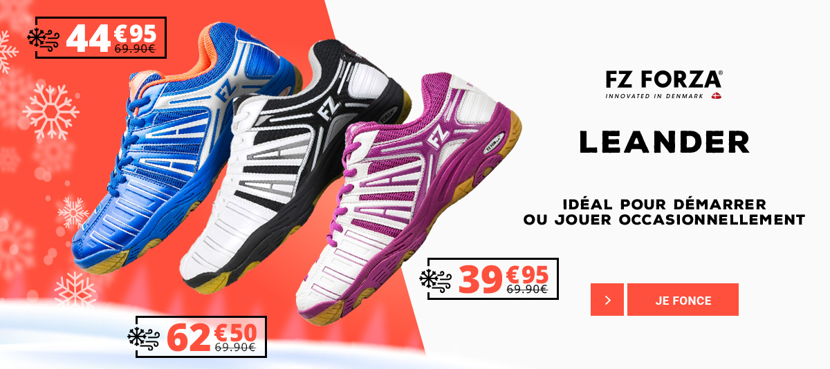 Les chaussures de badminton Forza Leander
