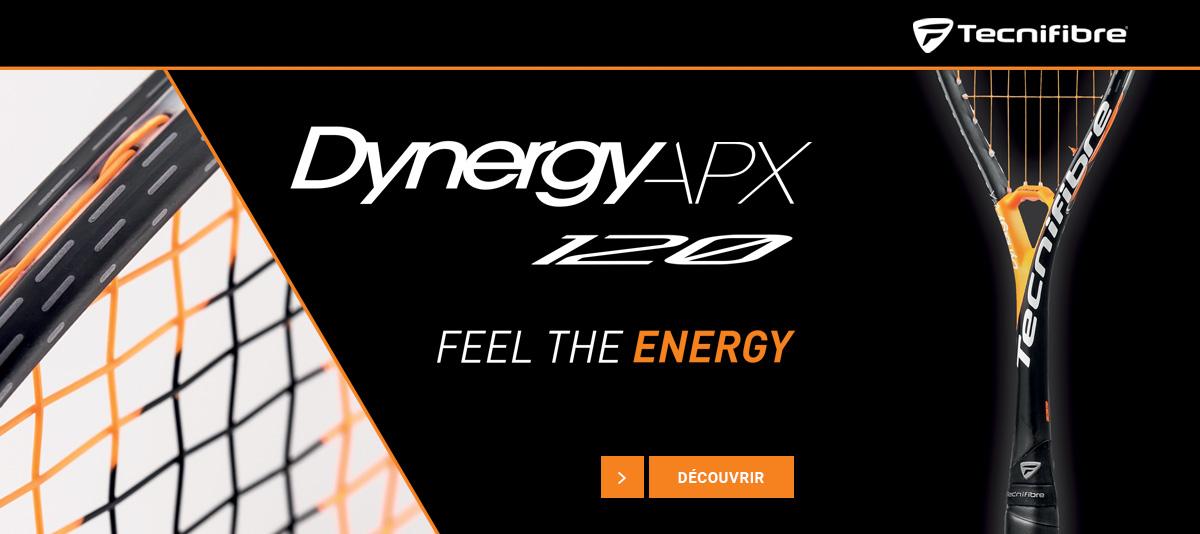 Raquette squash Tecnifibre Dynergy APX 120