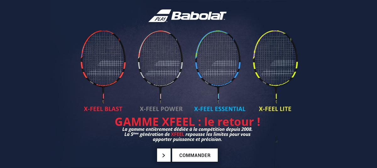 Découvrez les nouvelles raquettes X-Feel de Babolat