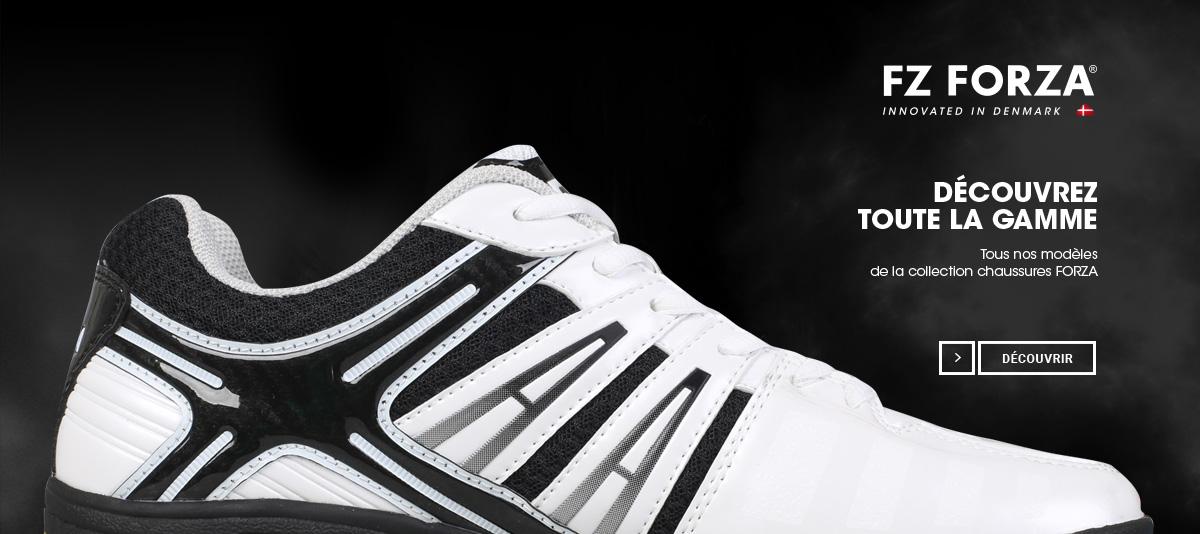 Nouvelle gamme de chaussures de badminton Forza