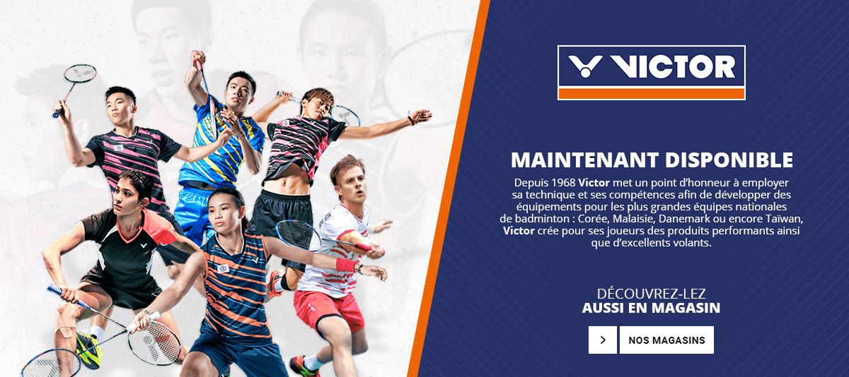 La marque Victor est maintenant disponible sur Larde Sports