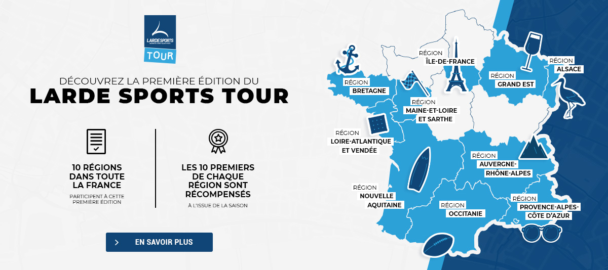 Découvrez la première édition du Larde Sports Tour