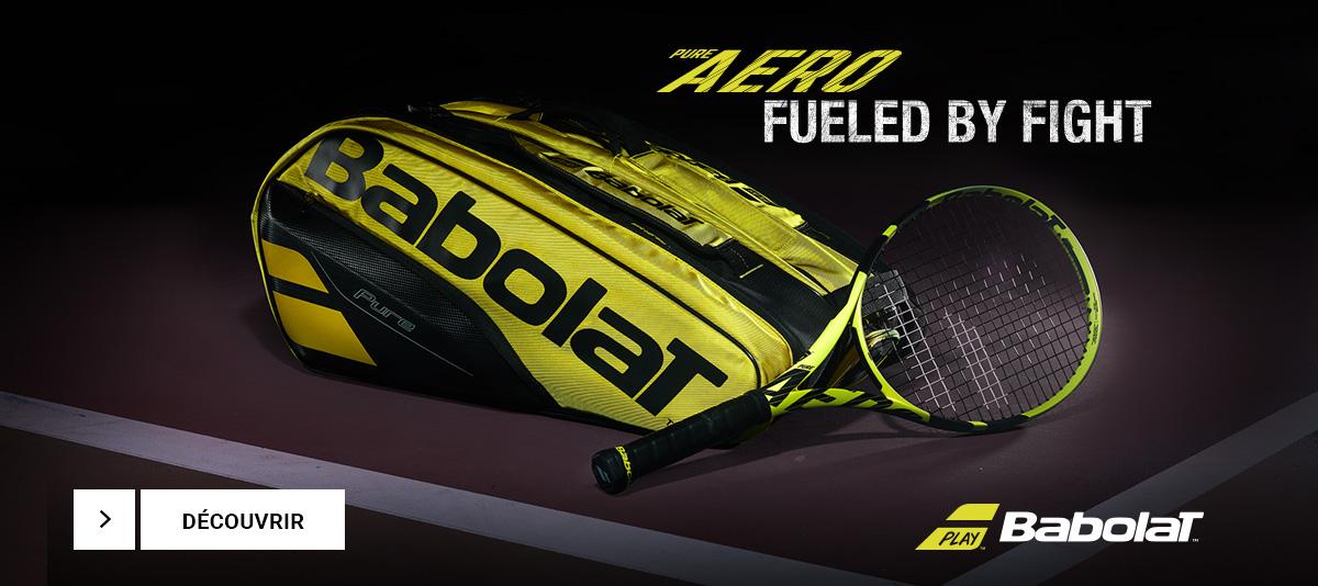 Les nouvelles raquettes de tennis Pure Aero