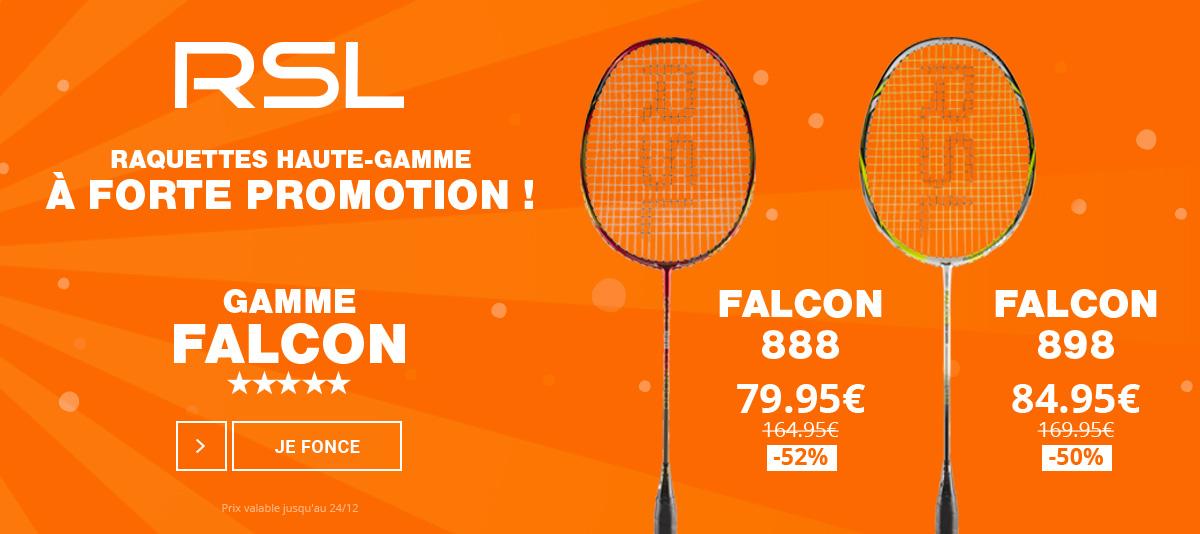 Découvrez la gamme Falcon à prix remisé