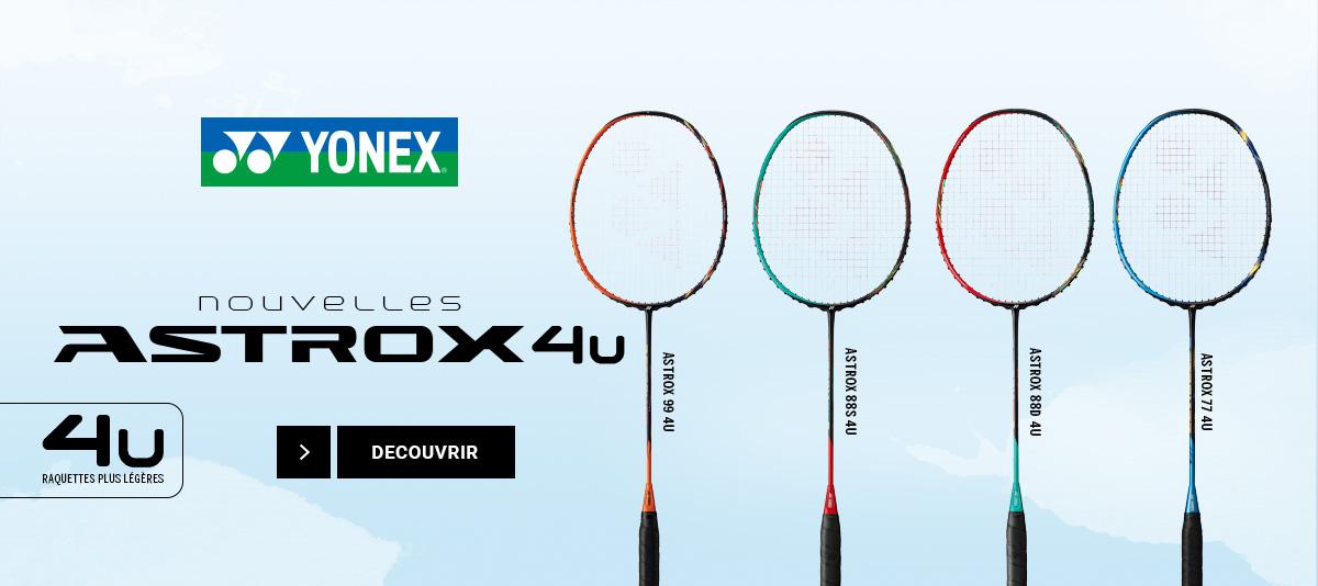Raquettes de badminton Astrox en 4U