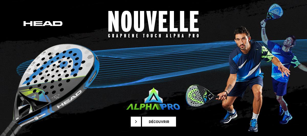 Raquette padel Head Alpha Pro