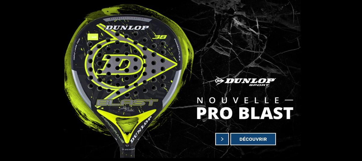 La nouvelle Dunlop Blast de Juani Meres