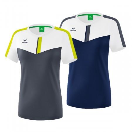T-Shirt Erima Femme Club Squad