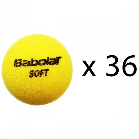 Balles de tennis Babolat Soft Foam (sachet de 36 balles)