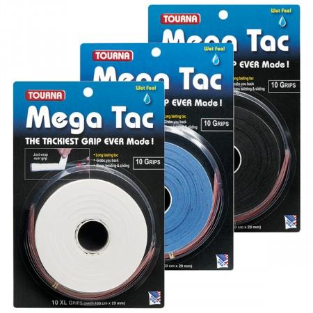 Lot de 10 Surgrips Tourna Megatac