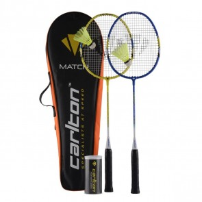 RAQUETTE DE BADMINTON CARLTON KIT MATCH 100