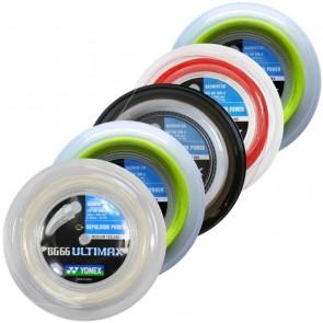 Cordage de badminton Yonex BG66 Ultimax (Bobine - 200m)