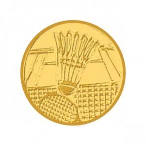 Pastilles Médaille Badminton (Alu - 0.25mm)