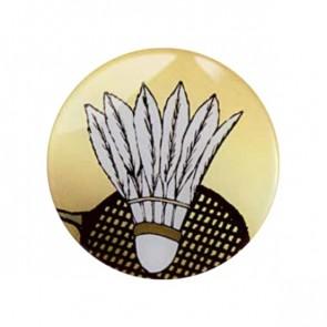 Pastilles Médaille Badminton(Epoxy - 50mm)