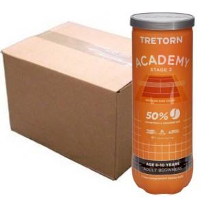 Balles de tennis Tretorn Academy Orange (carton de 24 tubes de 3 balles)