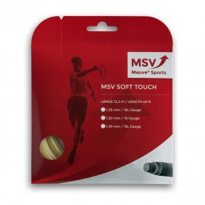 Cordage de tennis MSV Soft Touch (garniture de 12m)