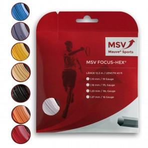 Cordage de tennis MSV Focus Hex (Garniture de 12m)