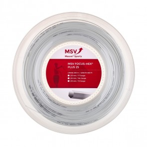 CORDAGE DE TENNIS MSV FOCUS HEX PLUS 25 (BOBINE - 200M)