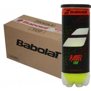 Balles de padel Babolat Padel Tour (Carton de 24 tubes de 3 balles)