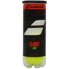TUBE DE 3 BALLES DE PADEL BABOLAT TOUR