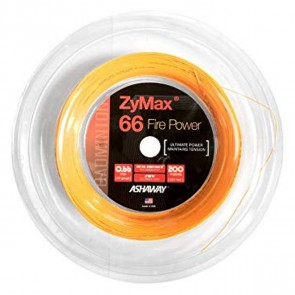 Ashaway Zymax 66 Fire Power Orange - 0.66mm