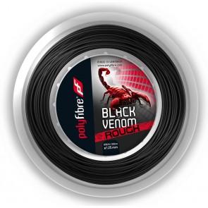 Cordage de tennis Polyfibre Black Venom Rough (Bobine - 200m)