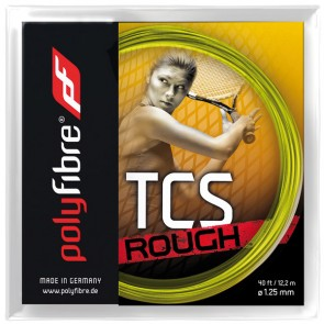 CORDAGE DE TENNIS POLYFIBRE TCS Rough (Garniture - 12,20m)