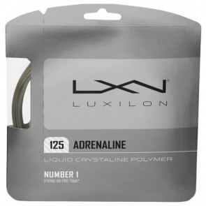 Cordage de tennis Luxilon Adrenaline (Garniture - 12m)