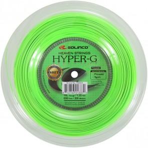 Cordage de tennis Solinco Hyper-G Soft (bobine de 200m)