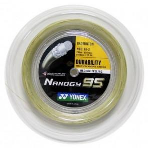 CORDAGE DE BADMINTON YONEX NANOGY 95 (BOBINE - 200M)