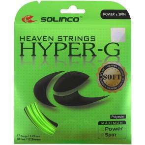 Cordage de tennis Solinco Hyper-G Soft (garniture de 12m)