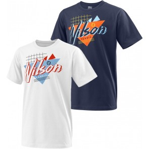 T-SHIRT WILSON JUNIOR NOSTALGIA TECH