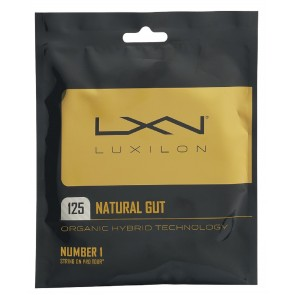 Cordage de tennis Luxilon Natural Gut (Garniture - 12m)