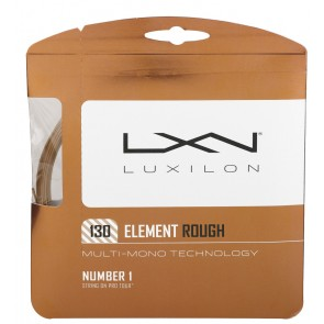 Cordage de tennis Luxilon Element Rough (Garniture - 12m)
