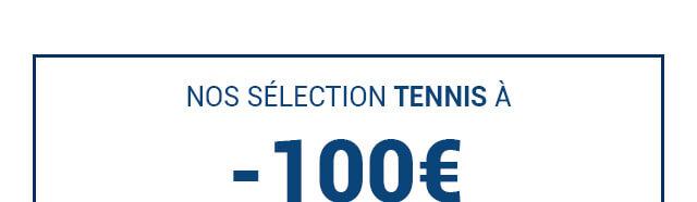 Nos raquettes de tennis en soldes à moins de 100€