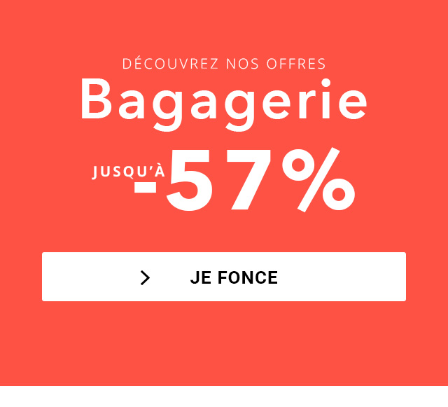 Nos sacs, thermobags et bagagerie en soldes