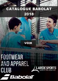 Catalogue Babolat Textile 2018
