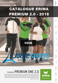 Catalogue Erima Premium 2.0 2018