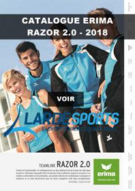 Catalogue Erima Razor 2.0 2018