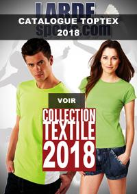 Catalogue Toptex textile 2018