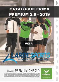 Catalogue Erima Premium 2.0 2019