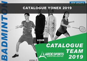 Catalogue Yonex textile 2019
