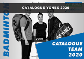 Catalogue Yonex textile 2020